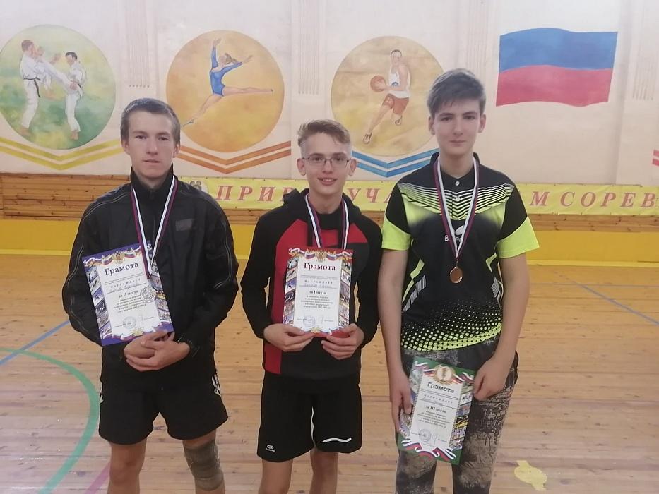 В спортшколе города Бологое прошёл турнир по настольному теннису