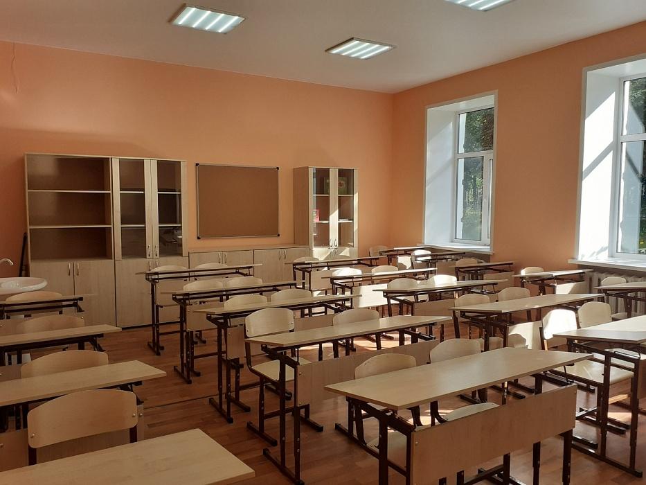 В Тверской области благодаря ремонту ликвидировали вторую смену в школе