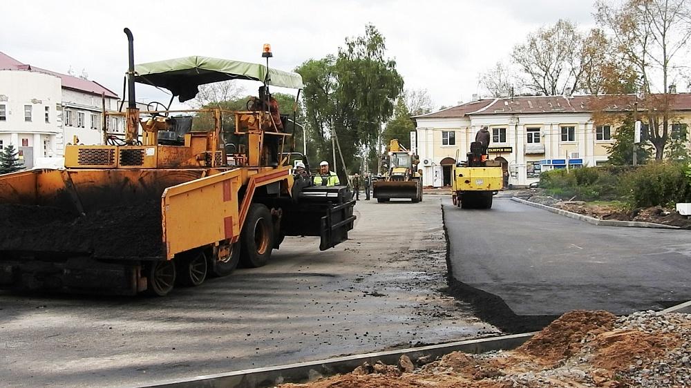 В Калязине продолжается ремонт дорог