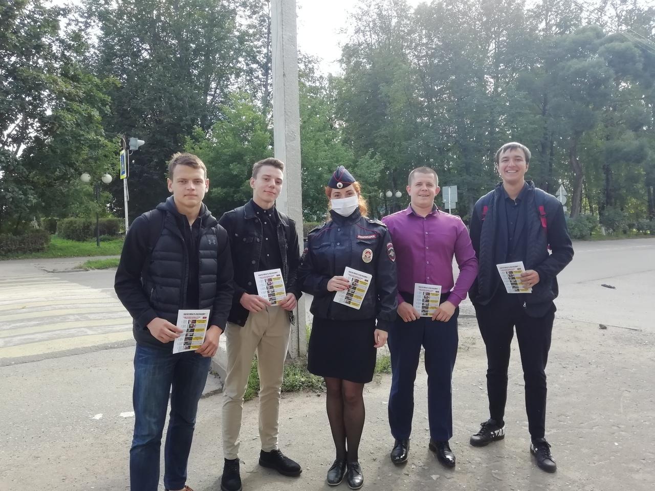 В Тверской области провели акцию для пешеходов