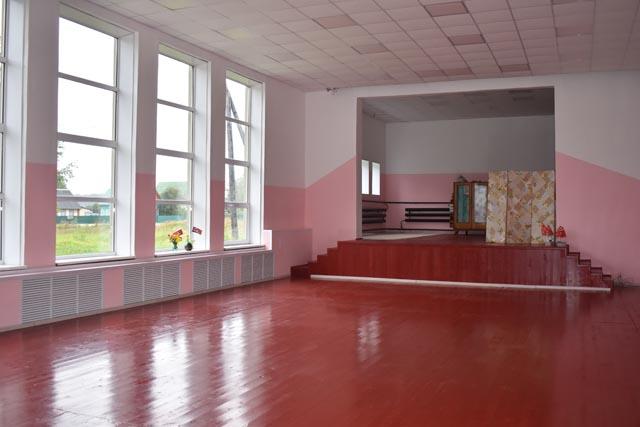 Обновлённый Дом культуры в Тверской области готовится открыть свои двери