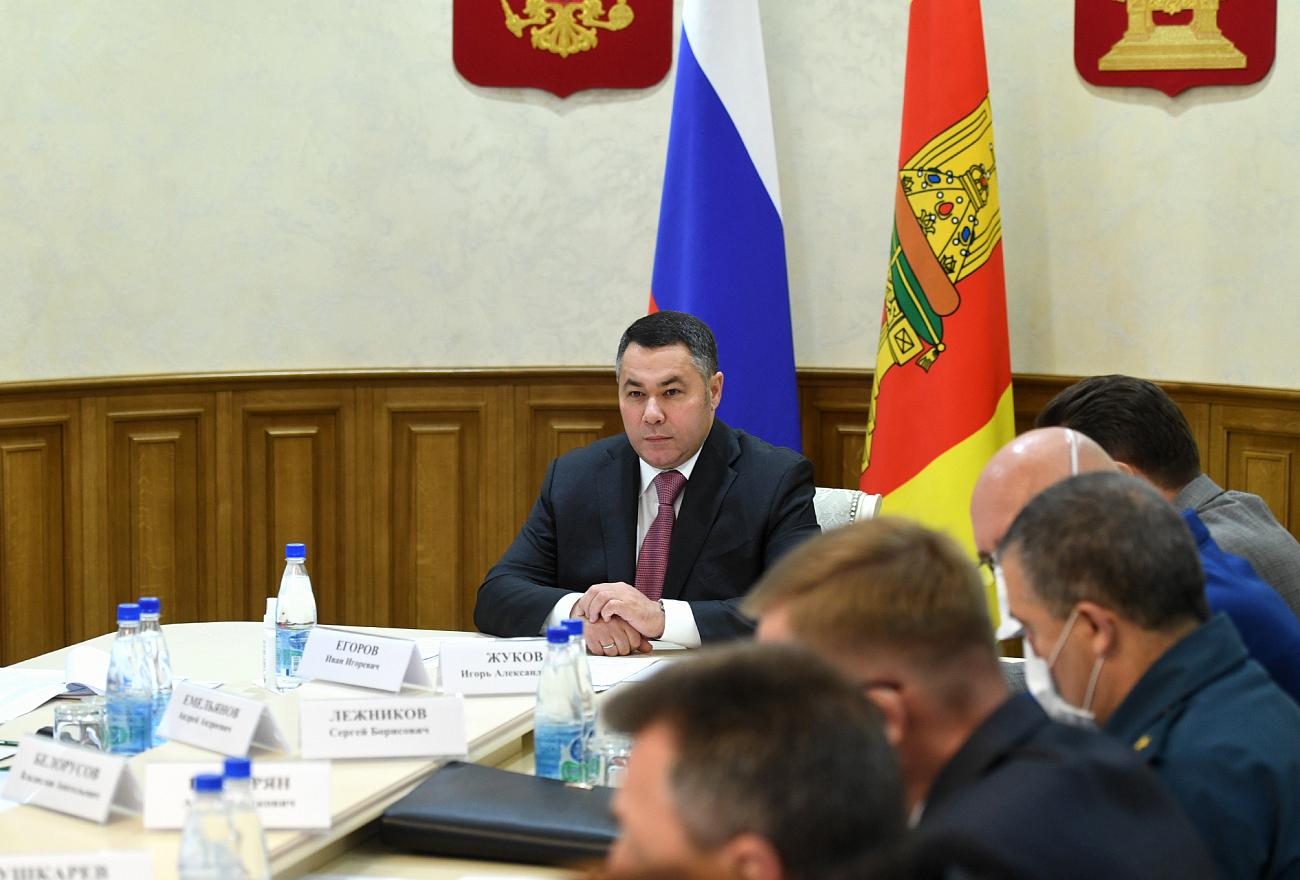 В образовательных учреждениях Тверской области пройдёт проверка мероприятий по профилактике коронавируса