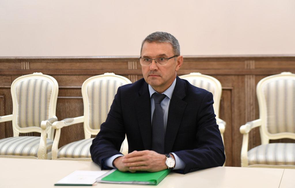 Губернатор Тверской областипровелвстречус главойБежецкогорайона