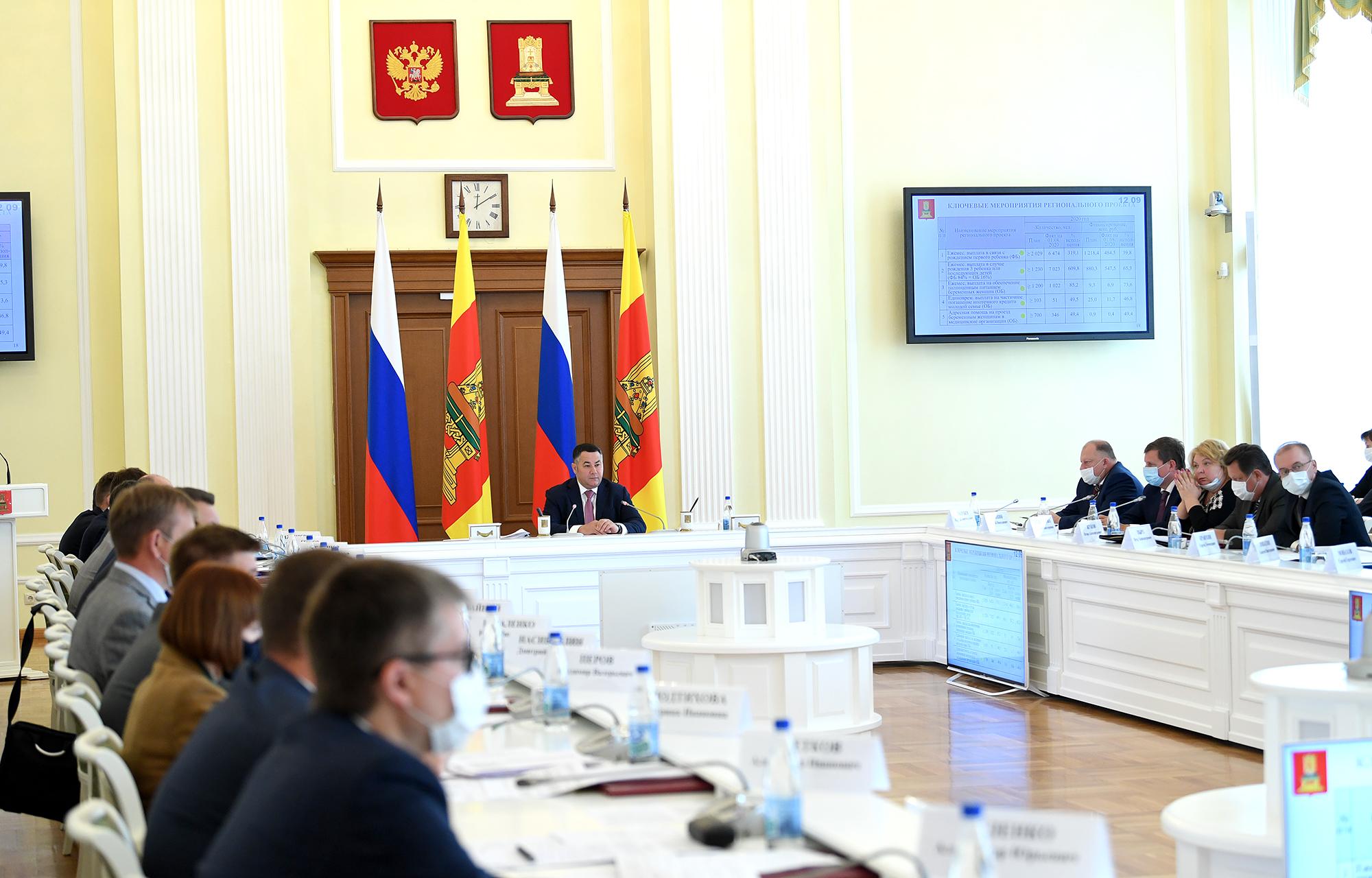 Реализацию государственной молодежной политики в Тверской областирассмотрятна заседании регионального правительства