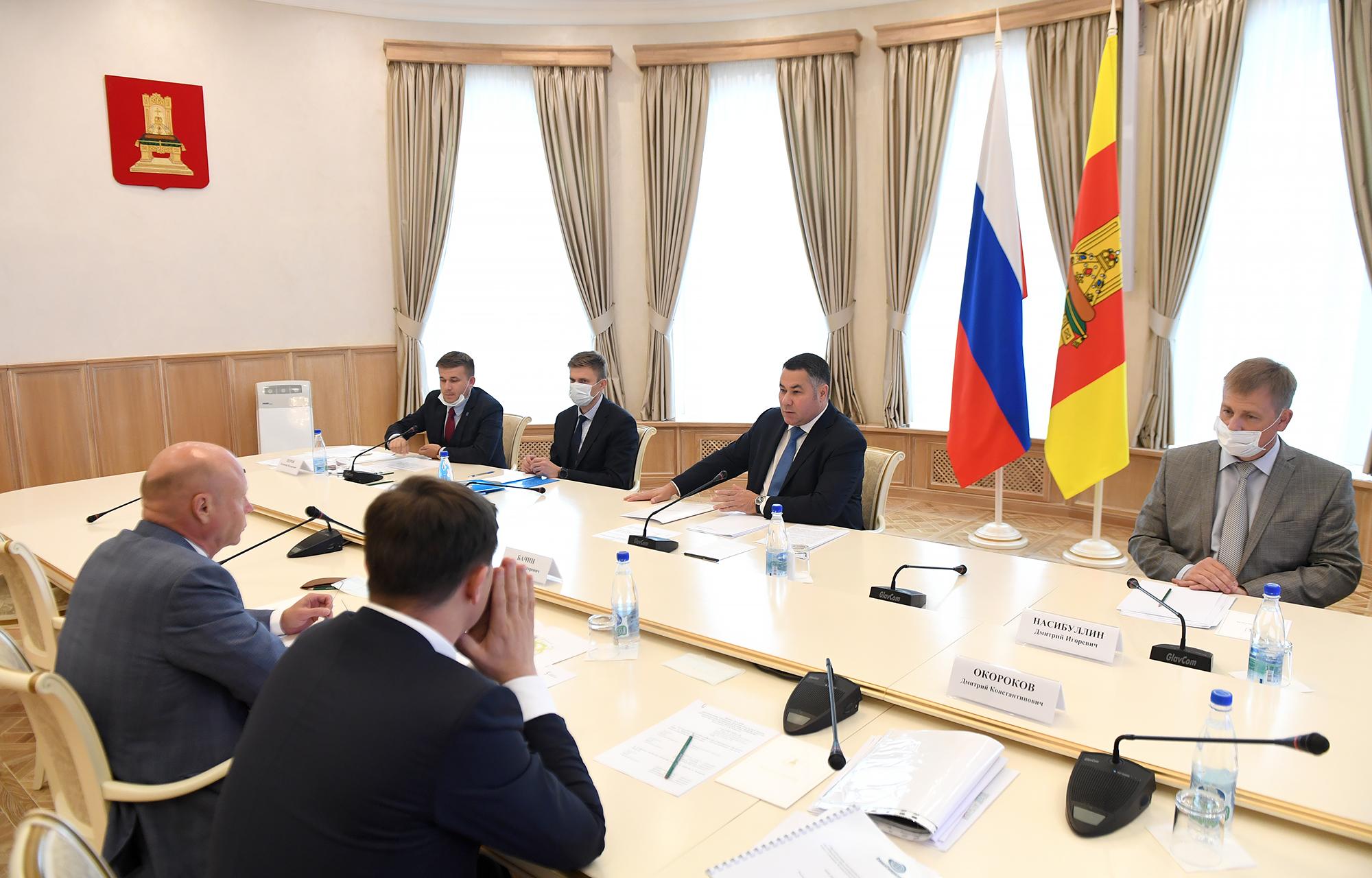 Игорь Руденя и председатель Совета директоров группы компаний «Агранта» обсудили развитие экономической зоны «Завидово»