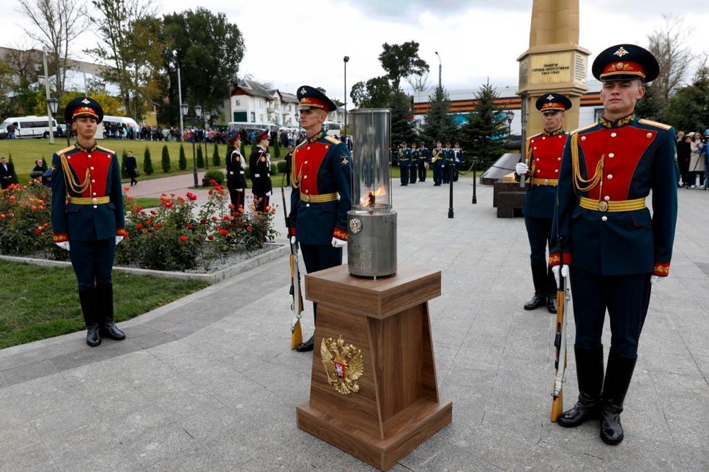 В Туле открыт первый в Россиимемориалэнергетикам–героямВеликой Отечественной войны
