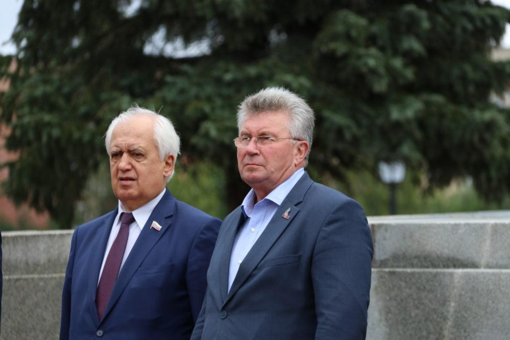 В полку прибыло: Андрей Белоцерковский поздравил полицейских Ржева с принятием присяги