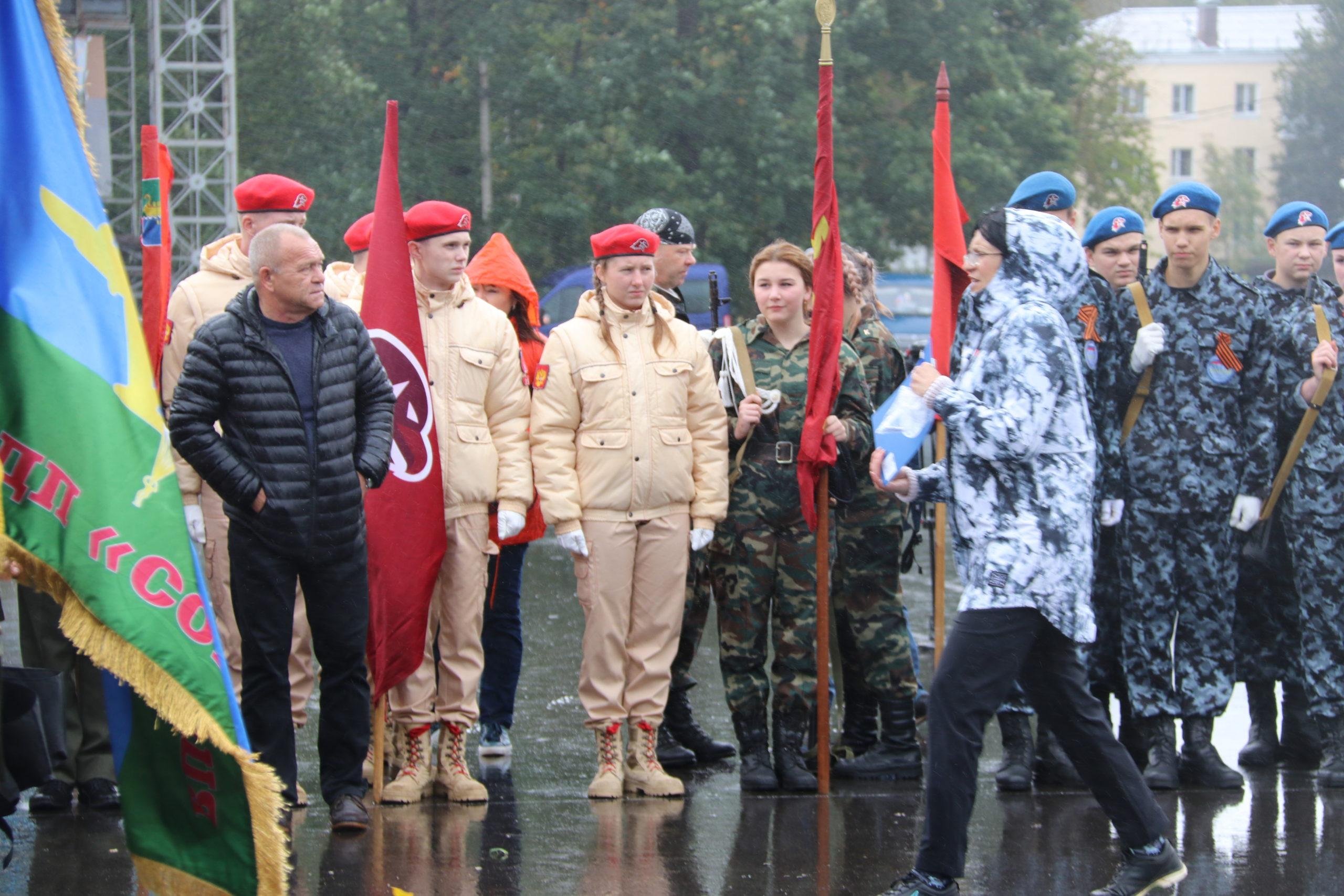 Андрей Белоцерковский на слёте часовых Постов Памяти: в глазах молодёжи мы видим будущее