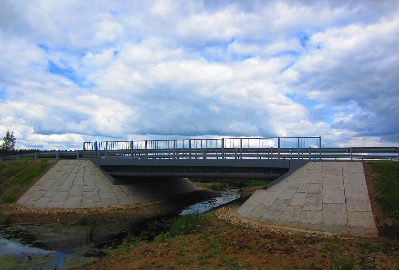 В Тверской области отремонтировали пять мостов