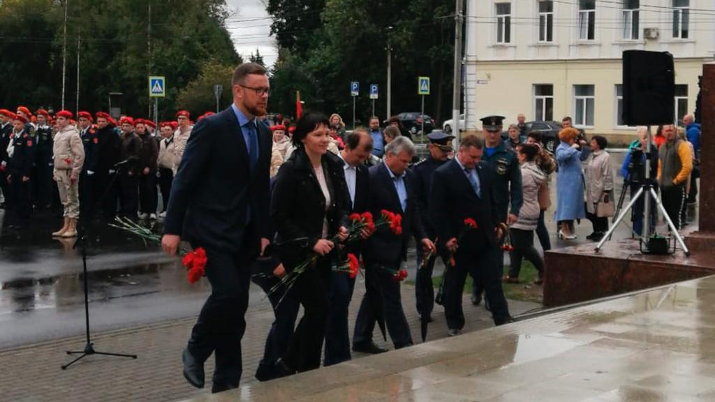 25 команд  из районов Тверской области принимают участие в Слете часовых Постов Памяти