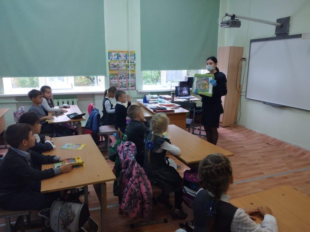 В Тверской области проводят уроки безопасности для школьников