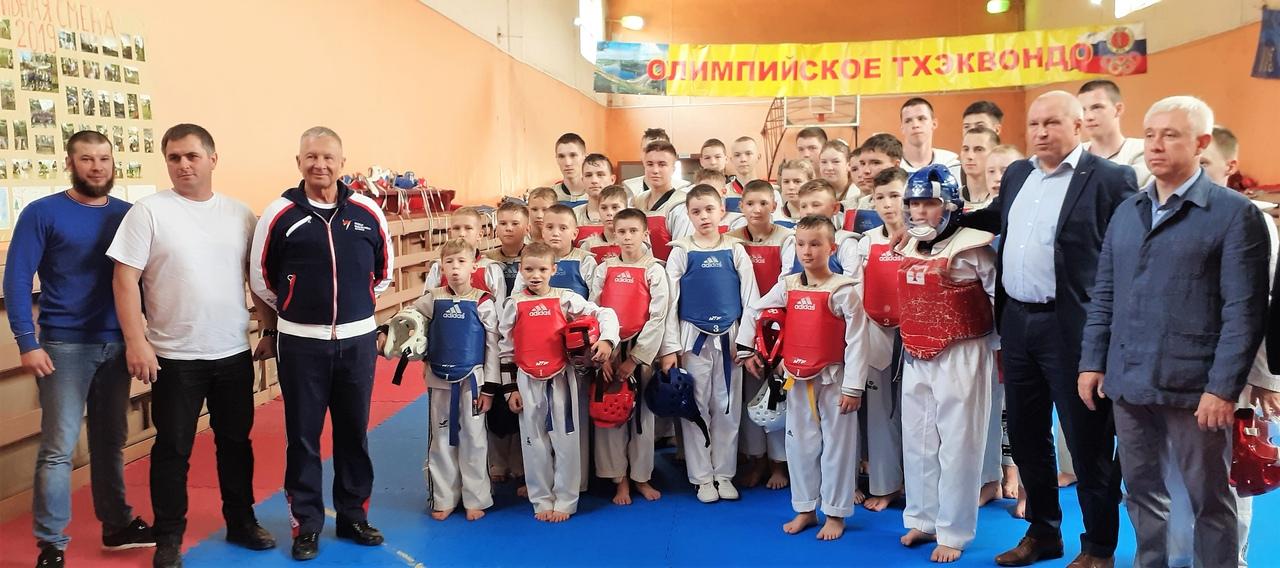 Ржев посетил президент Союза тхэквондо России Анатолий Терехов