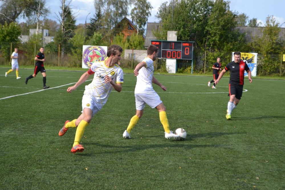 Осташковские футболисты выиграли второй матч подряд