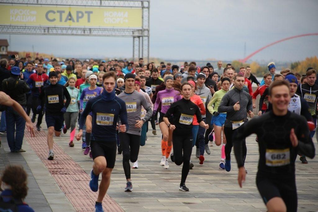 В Тверской области региональный этап «Кросса нации» впервые проходит в городе воинской славы Ржеве