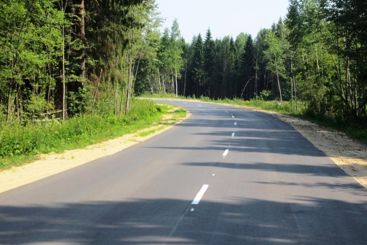 В Тверской области отремонтировали автодорогу Конаково - Дулово – Высоково