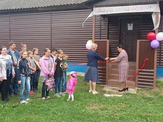 Сельский клуб в Тверской области отремонтировали по Программе поддержки местных инициатив