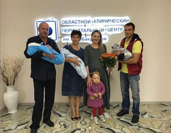 Три богатыря: в Тверском перинатальном центре родились тройняшки