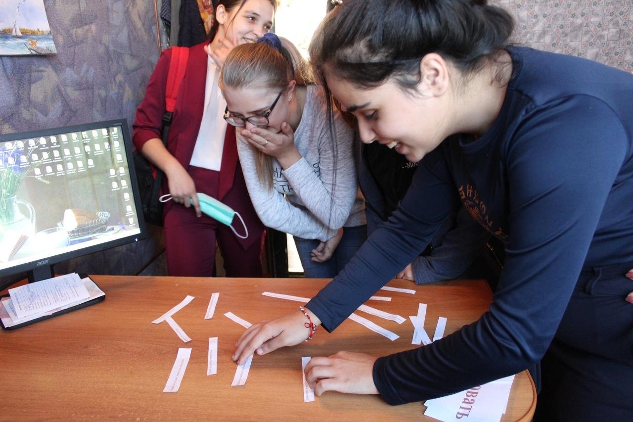 Учащиеся торопецкого колледжа прошли библиотечный квест