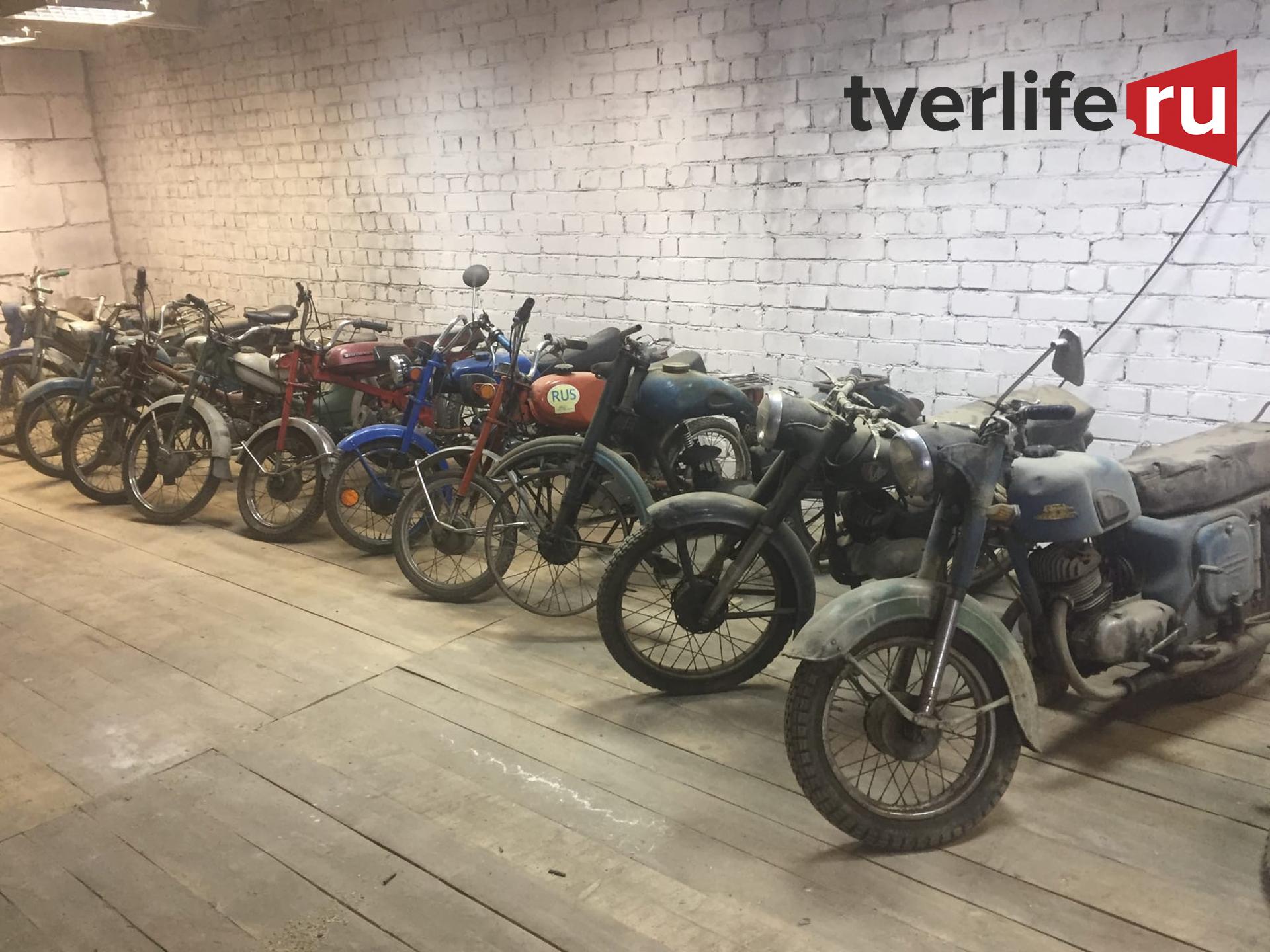 Самый большой музей мототехники готовится к открытию в Тверской области