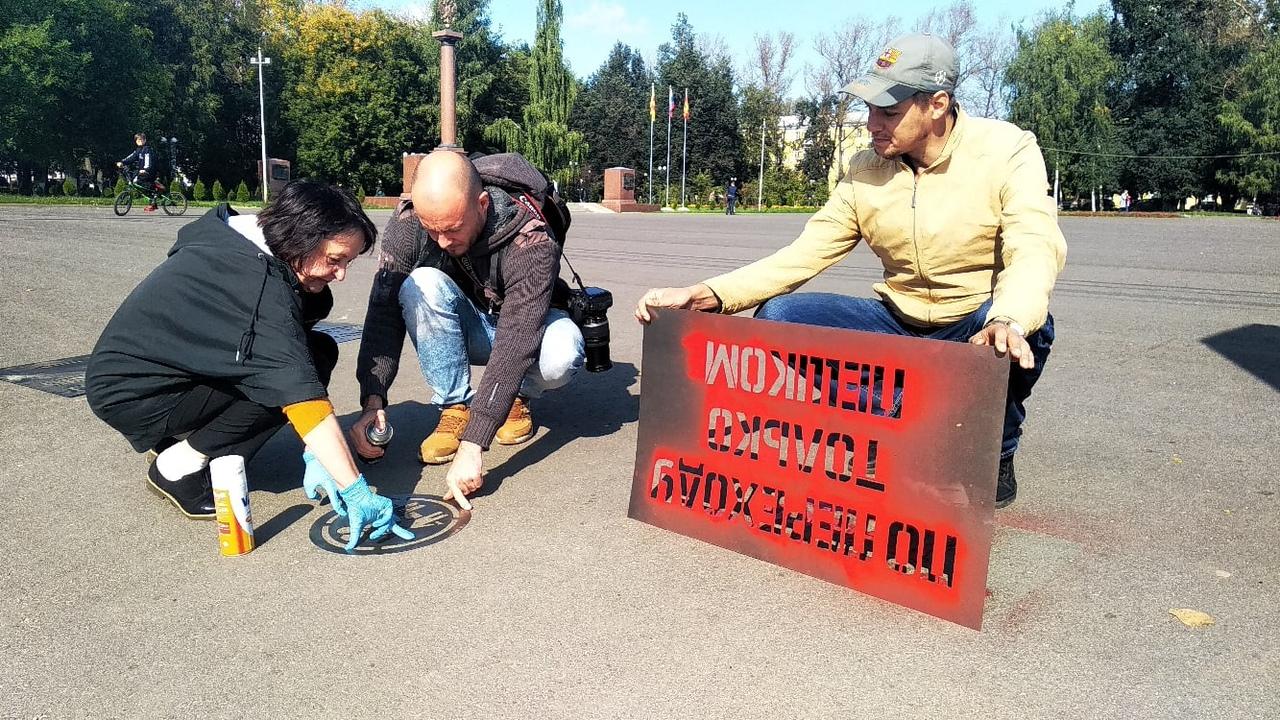 В Ржеве Тверской области проходит акция по профилактике детского травматизма на дорогах