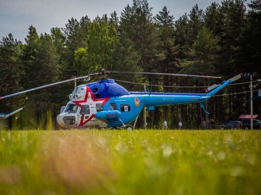 В Тверской области прошел чемпионат по вертолётному спорту