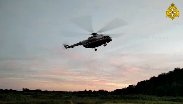 Вертолет санавиации вылетал на помощь к пациенту Ржевской ЦРБ