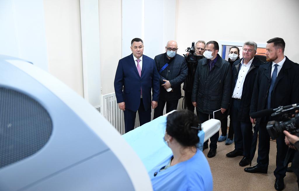 Игорь Руденя потребовал выполнить в полном объеме поручения по ремонту ЦРБ  в Ржеве