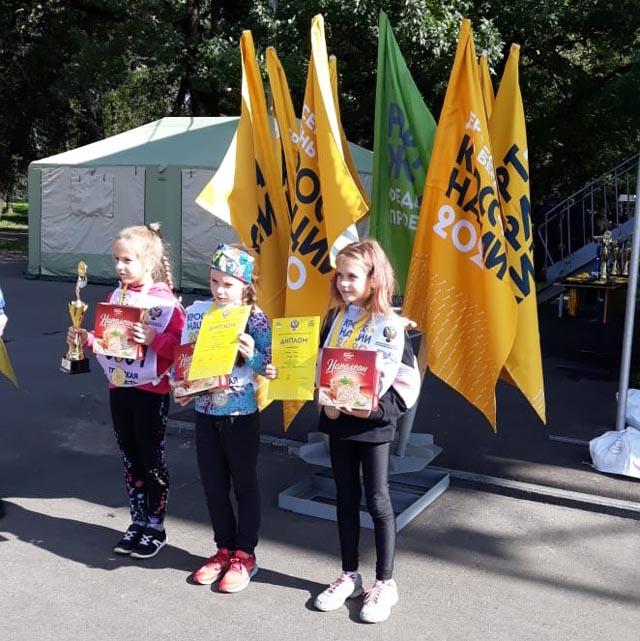 Западнодвинцы приняли участие в «Кроссе нации 2020» и попали в призы