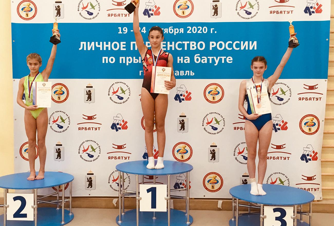 Тверские акробаты стали призерами первенства России