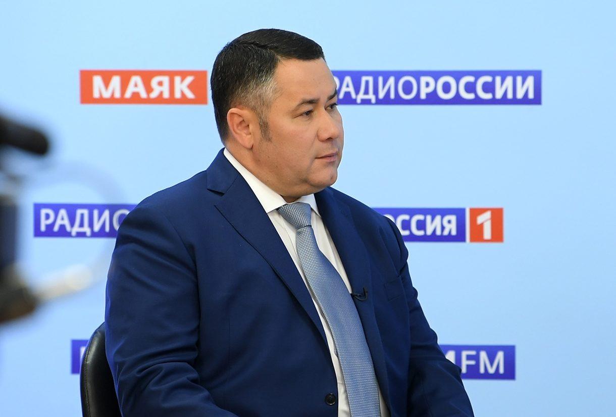 Игорь Руденя в прямом эфире рассказал про обязательное ношение масок в транспорте