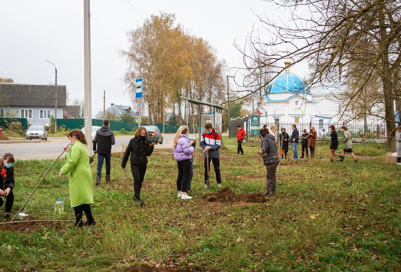 В память о начале оккупации в Ржеве посадят рябину и зажгут свечи