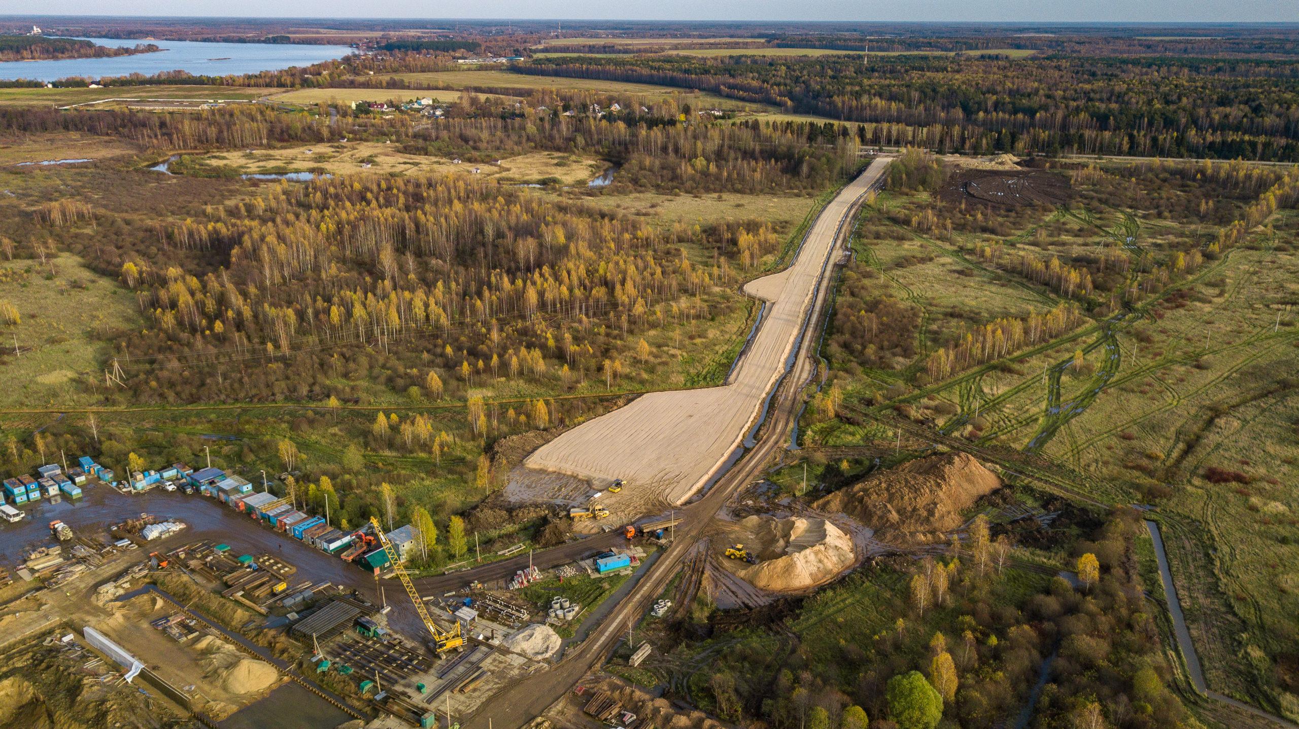 Губернатор проверил строительство нового речного порта в Завидово в Конаковском районе