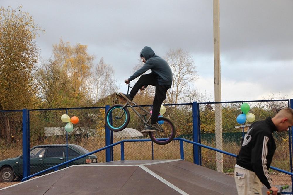 Скейт-парк появился в районе Тверской области