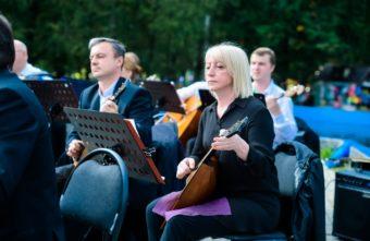 Жители Твери смогли услышать оркестр русских народных инструментов