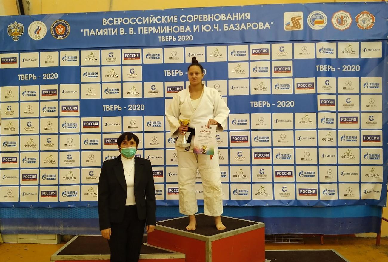 На Всероссийском турнире по дзюдо тверские спортсмены завоевали золото и бронзу