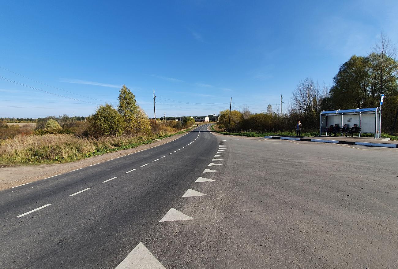 В Тверской области отремонтировали автодорогу Красномайский – Фирово