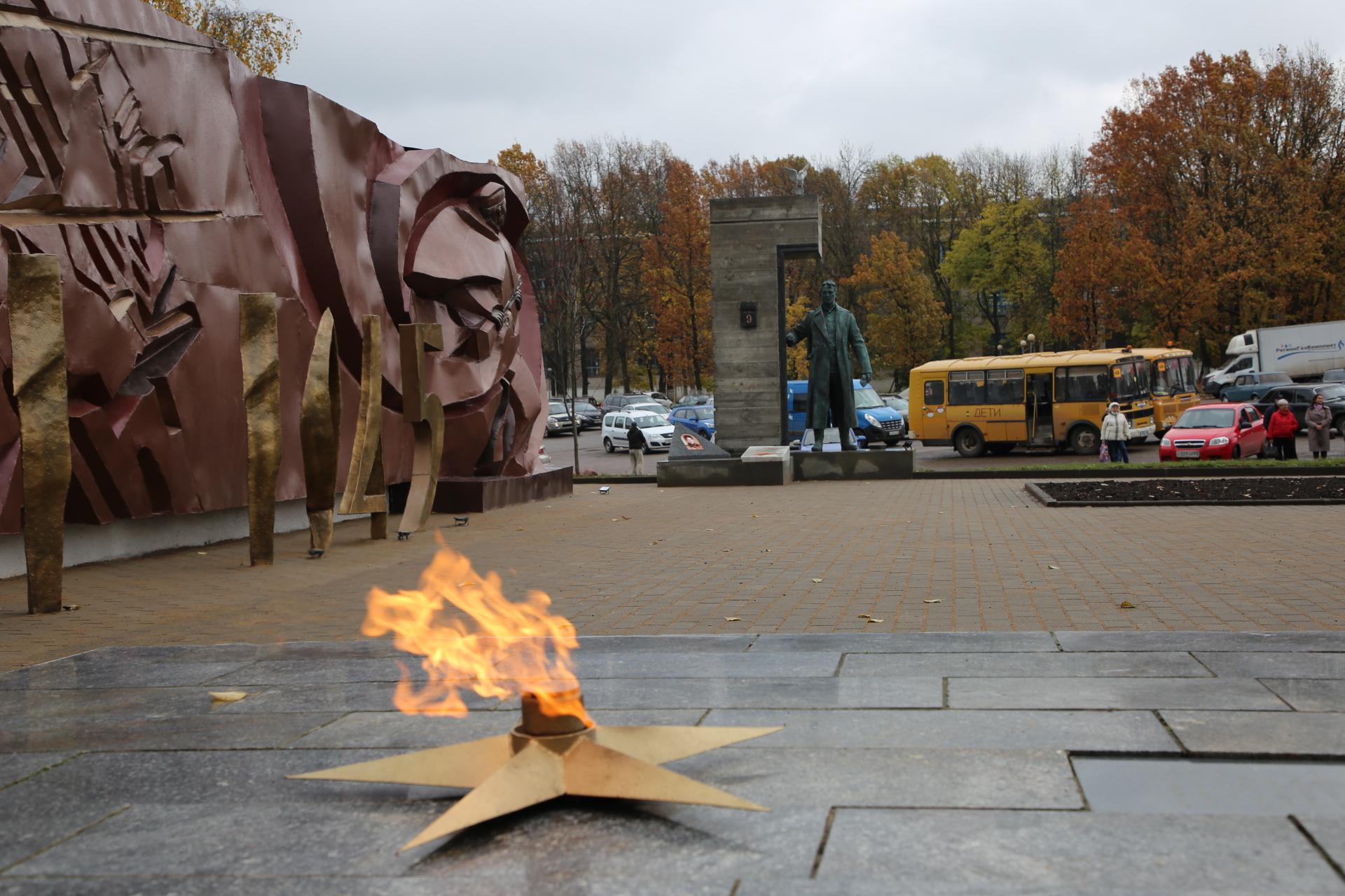 В память о воинах Великой Отечественной войны в Тверской области открыли новый памятник