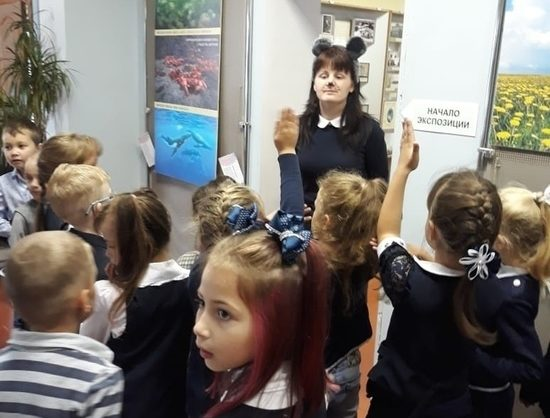 Музейную Мышь встретили школьники из Тверской области