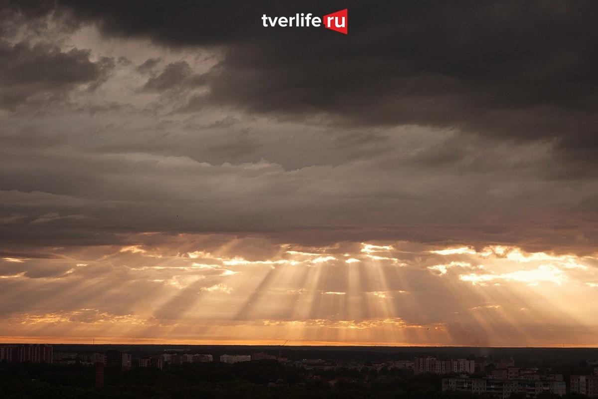 Тучи, дождь и южный ветер: погода в Твери на завтра