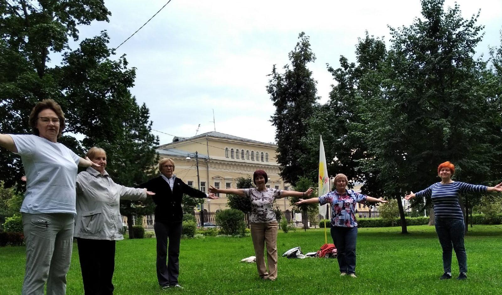 В здоровом теле - здоровый дух: тверская Академия здоровья приглашает на бесплатное занятие