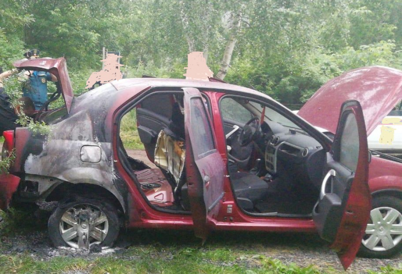 Поджигатель машин в Твери попал в объектив видеокамер