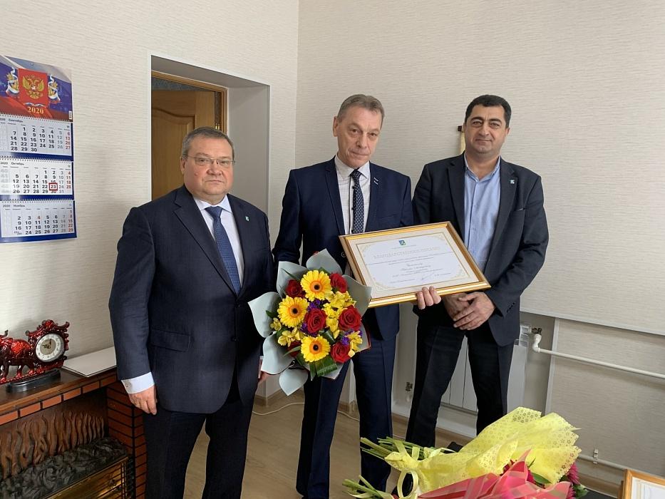 Сотрудников Конаковского АТП поздравили с профессиональным праздником