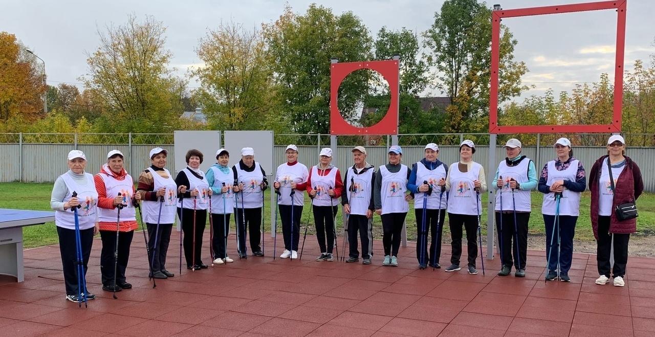 В Лихославле спортсмены серебряного возраста сдали нормы ГТО