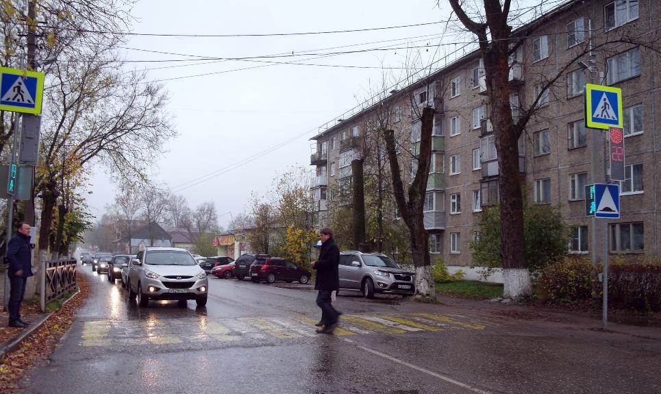 В городе Тверской области введены в эксплуатацию новые светофоры