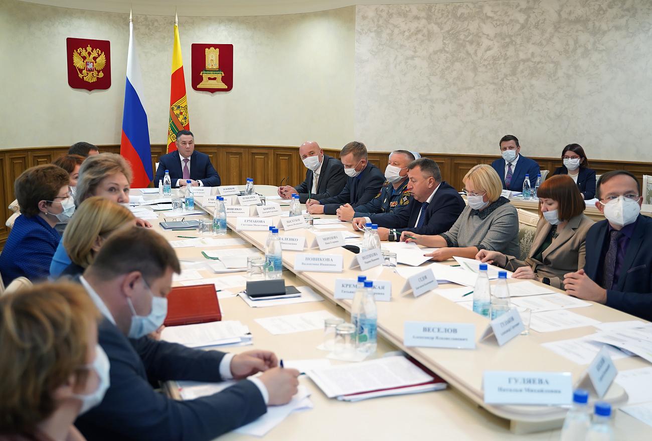 В Тверской области увеличат объемы лабораторной диагностики COVID-19