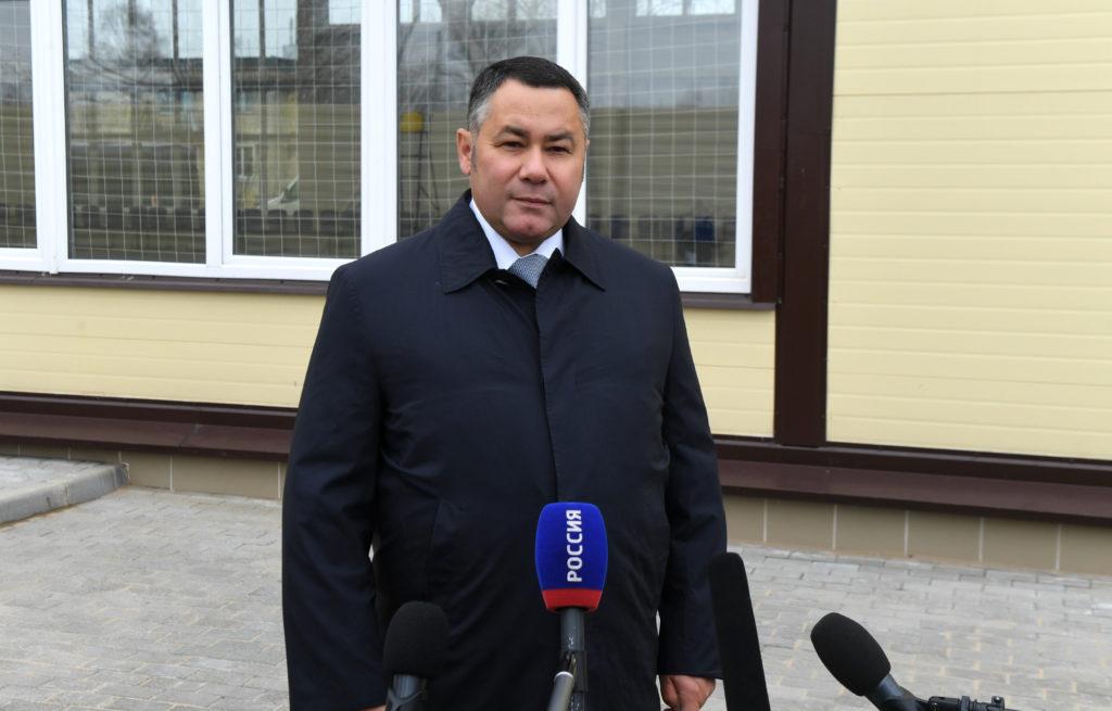 Губернатор в Сонково: как глава Тверской области оценил жизнь района