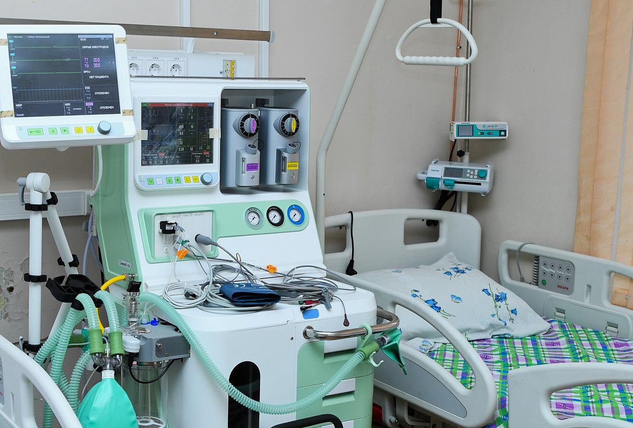 ИВЛ и 1010 коек: какие мощности развёрнуты в Тверской области для пациентов с коронавирусом