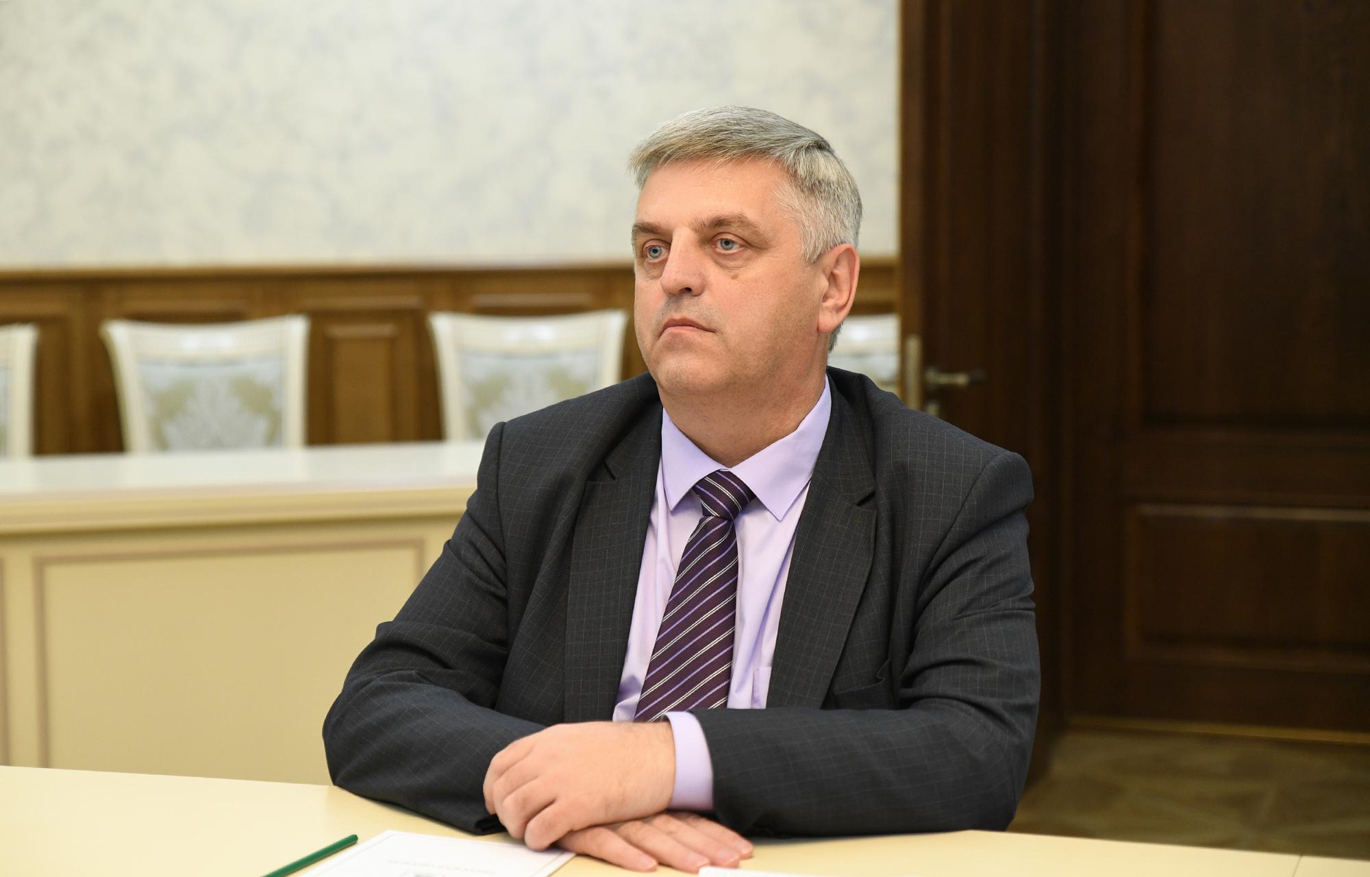 Игорь Руденя обсудил с главой Краснохолмского района газификацию и культуру