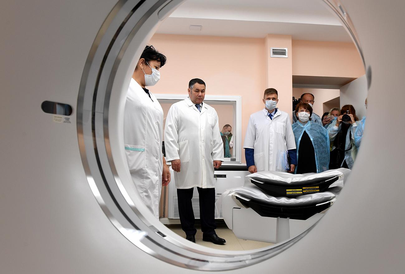 Тверская область получит свыше миллиарда рублей на модернизацию учреждений здравоохранения