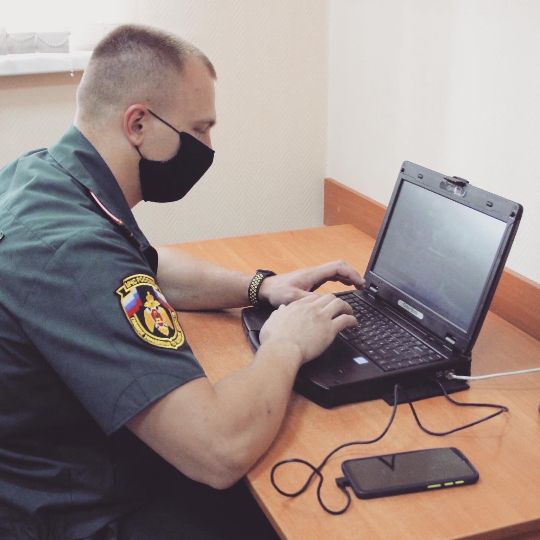 Сотрудники МЧС России по Тверской области отмечают День связиста